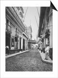 Street in Havana Cuba Photograph - Havana, Cuba Prints by  Lantern Press