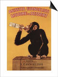 Italy - Anisetta Evangelisti Liquore da Dessert Promotional Poster Prints by  Lantern Press