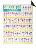 Soccer '68 Posters