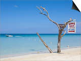 Long Bay, Negril, Westmoreland Parish, Jamaica, Caribbean Posters by Doug Pearson