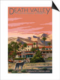 Furnace Creek Inn - Death Valley National Park Posters by  Lantern Press