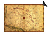 Bahamas - Panoramic Map Prints