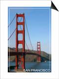 San Francisco, California - Golden Gate Bridge Day Prints by  Lantern Press