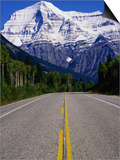 Road Leading to Mt. Robson, Rocky Mountains, Mt. Robson Provincial Park, Canada Posters by Philip Smith