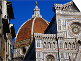 Looking Up at Duomo, Florence, Tuscany, Italy Posters by Glenn Beanland
