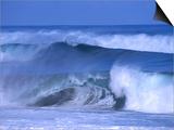 Big Surf at Papohaku Beach, Molokai, Hawaii, USA Art by Karl Lehmann