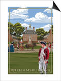 Governor's Palace - Williamsburg, Virginia Prints by  Lantern Press