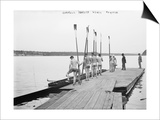 Cornell University Rowing Crew Team Photograph - Ithaca, NY Print by  Lantern Press