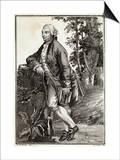 David Hume Scottish Historian and Philosopher Print by Gianbattista Bosio