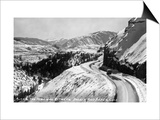 Colorado - View along Highway between Basalt and Aspen Prints by  Lantern Press
