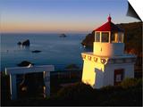 Trinidad Head Lighthouse, Trinidad, California, USA Prints by Stephen Saks