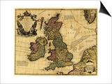 Great Britain - Panoramic Map Prints