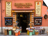 """Chocolateria Shop Front Proclaiming the """"Bestest Chocolate of the World"""" Art by Diana Mayfield"""