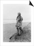 Indian Woman in Primitive Dress Edward Curtis Photograph Prints by  Lantern Press