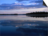 Sunset on Lake Itasca, Itasca State Park, USA Prints by John Elk III