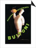 Tuscany, Italy - Buitoni Pasta Promotional Poster Plakater af  Lantern Press