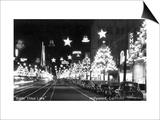 Hollywood, California - Santa Claus Lane Parade on Hollywood Blvd Posters by  Lantern Press