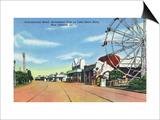 New Orleans, Louisiana - Pontchartrain Beach Amusement Park Prints by  Lantern Press