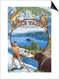 Lake Tahoe, CA Summer Views Prints by  Lantern Press
