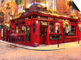 The Temple Bar Pub in Temple Bar Area Prints by Eoin Clarke