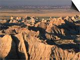 Valley from Pinnacles Overlook, Badlands National Park, South Dakota, USA Prints by Stephen Saks