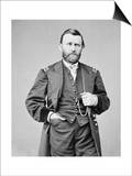 Ulysses S. Grant Photograph Art by  Lantern Press