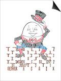 Humpty Dumpty Posters