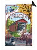 Vermont Scenes Posters by  Lantern Press