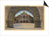 Palo Alto, California - View of the Memorial Church, Stanford U. Prints by  Lantern Press