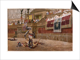 Gladiators in the Arena Prints by Edmund Evans