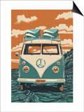 VW Van Posters by  Lantern Press