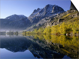 Autumn Morning, Silver Lake, June Lake Loop, Eastern Sierra Nevada Posters by Nicholas Pavloff