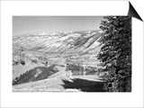 Aspen, Colorado - Aspen Chair Lift View of Roaring Fork Valley Posters