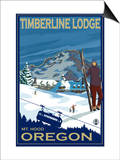 Timberline Lodge, Mt. Hood, Oregon Posters by  Lantern Press