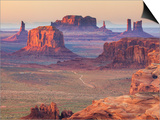 USA, Arizona, View Over Monument Valley from the Top of Hunt's Mesa Posters by Michele Falzone