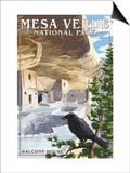 Mesa Verde National Park, Colorado - Balcony House Prints by  Lantern Press