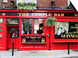 The Temple Bar Pub in Temple Bar Area Print by Eoin Clarke