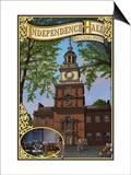 Independence Hall - Philadelphia, Pennsylvania Prints