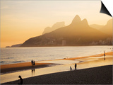 Ipanema Beach Print by Micah Wright