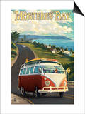 Monterey, California - VW Van Prints