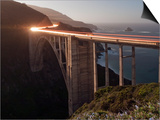 Bixby Bridge Along the Big Sur Coastline Posters by Douglas Steakley
