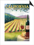 California Wine Country Posters by  Lantern Press
