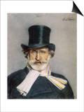 Giuseppe Verdi Italian Composer Prints by Giovanni Boldini