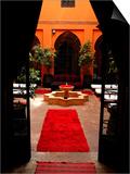 Les Bains De Marrakesh, Marrakesh, Morocco Posters by Doug McKinlay