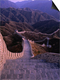 Great Wall of China, Badaling, China Prints by Nicholas Pavloff