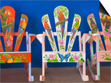 Decorative Chairs Posters by Richard Cummins