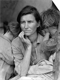 Migrant Mother, 1936 Plakater af Dorothea Lange