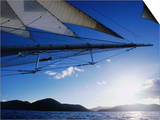 Horizon Seem from Bowsprit Net Star Clipper, Tortola Posters by Holger Leue