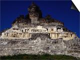 El Castillo, Ancient Classic Mayan Ruins of Xuntunich,Xuntunich,Cayo, Belize Posters by Jeffrey Becom