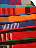 Brightly Coloured Hand-Loomed Fabrics at Barefoot, a Textile and Homewares Retailer Prints by Greg Elms